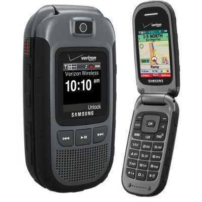 Samsung Convoy U640 for Verizon Wireless, Rugged Flip Cell Phone (Gray) - No Contract