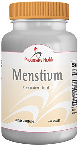 PMS Relief Supplement: Helps Menstrual Cramps, Bloating, and Period Pain - Includes: Vitamin E, B6, Magnesium, Chasteberry, Dong Quai, Licorice, and L-Theanine