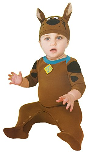 Scooby-doo Romper with Collar and Hat Costumn (6-12 Mo) -