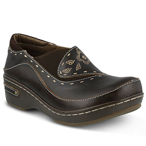 L'artiste by Spring Step Women's Burbank Mule, Brown, 42 EU/10.5-11 M ()