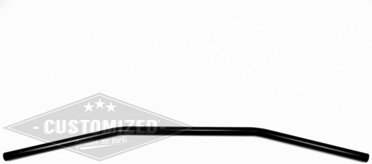 1 Pouce 25,4mm Guidon Drag Bar 100cm Noir pour Harley-Davidson