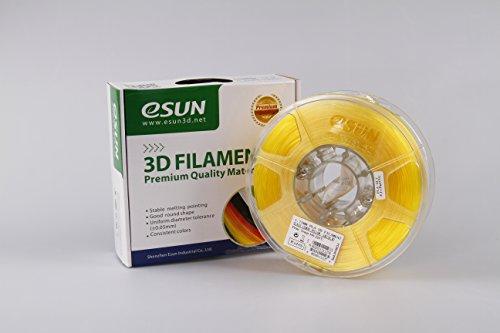 eSUN 1 75mm Yellow Printer filament