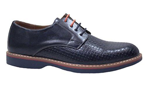 Blu Artigianali Trend Casual Uomo Eleganti Scarpe Sneakers OvUqSHw
