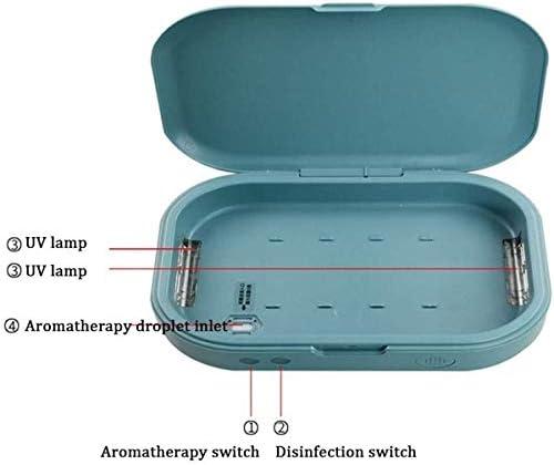 bo/îte de st/érilisateur multifonctionnel portable avec d/ésinfection /à lozone masque de t/él/éphone pour st St/érilisateur UV Masque de t/él/éphone portable st/érilisateur st/érilisateur