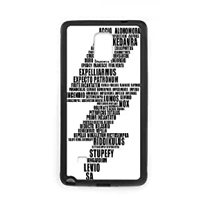 Samsung Galaxy Note 4 Cell Phone Case Black Harry Potter psau