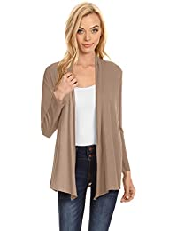 Womens Open Drape Cardigan Reg and Plus Size Cardigan...