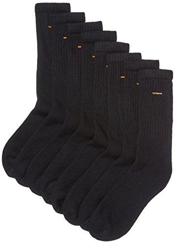 Camano Herren Sportsocken 5941 Sport Socks, 8er Pack, Gr. 43/46, Schwarz (black 05)