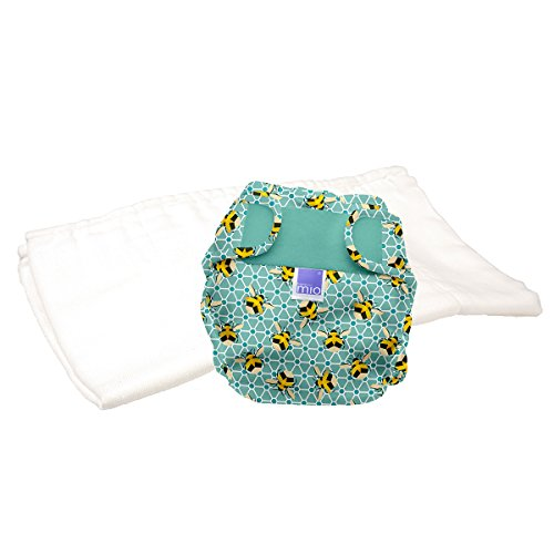 Bambino Mio, Miosoft Cloth Diaper Trial Pack, Bumble, Size 1 (<21lbs)