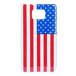 EE.UU. Bandera Nacional patrón duro caso para Samsung I9100 Galaxy S2