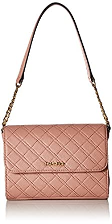 Calvin Klein Permanent Quilted Pebble Shoulder Bag Deep