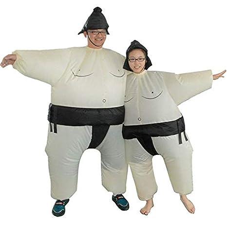 Vestido inflable de sumo Traje de hombre y mujer gordo Traje ...