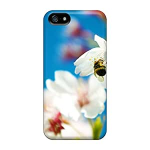 ConnieJCole PQKQuTo2659DrwKr Case For Iphone 5/5s With Nice Spring Bee Free Hd Appearance