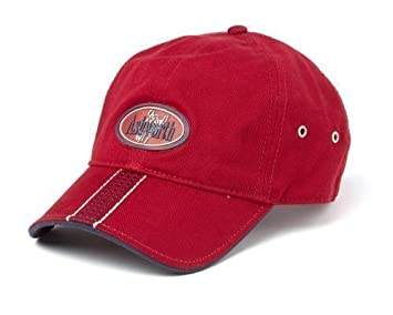 Ashworth Deep Red Golf Cap - Adults One Size Fits All  Amazon.co.uk ... 8af76cee306