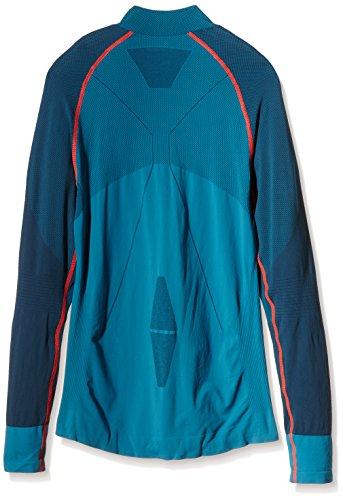 FALKE mujer ropa interior RU Athletic de manga largo para hombre con cremallera media Trend para mujer Turquesa - azul
