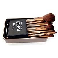 GLAMOUROUI® Urban Decay Cosmetic Makeup Brush Set with Storage Box, Set of 12
