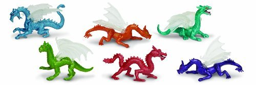 Safari Ltd Dragons Count TOOB, 6 Count Dragons by Safari Ltd. 6da097