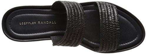 Loeffler Randall Women's Luna Heeled Sandal Black HqbGB
