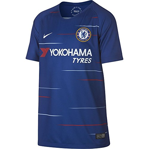 NIKE 2018-2019 Youth Chelsea FC Home Jersey (Rush Blue) (YL)