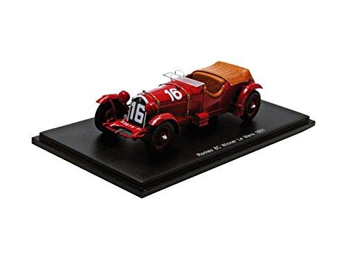 1/43 アルファロメオ 8C Winner Le Mans 1931 L. Howe - H. Birkin #16 43LM31