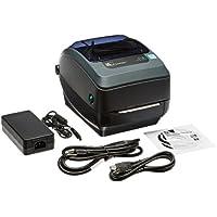 Zebra GX430t Monochrome Desktop Direct Thermal/Thermal Transfer Label Printer with Reflective and Transmissive Media Sensor, 4 in/s Print Speed, 300 dpi Print Resolution, 4.09 Print Width, 100-240V AC