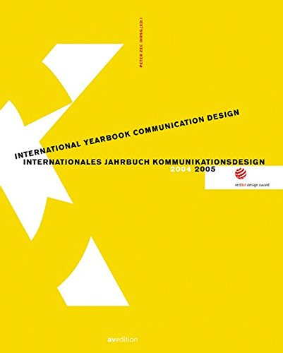 red dot design award: International Yearbook Communication Design 2004/2005: avedition