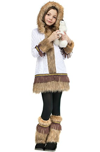 [Eskimo Kids Costume] (Kid Eskimo Costume)