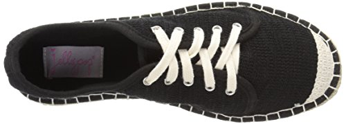 Jellypop Womens Francesco Sneaker Black
