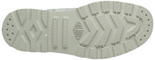 de Pallab Mouse deporte D25 Mid Zapatillas F Blanc White Blanco Palladium Mujer S4pqxwdI4