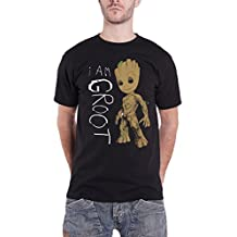 Guardians Of The Galaxy Vol 2 T Shirt I Am Groot Scribbles Official Marvel Mens