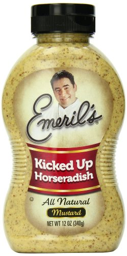 Emeril's Kicked Up Horseradish Mustard, 12 Ounce (Pack of 12)