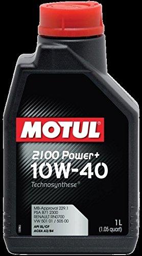 Aceite Motor Coche Motul 2100 Power + 10 W40 Abeja SL/CF - 1 Litro: Amazon.es: Coche y moto