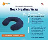 Sunny Bay Microwavable Neck Heating Pad: Heat Therapy Pillow of...