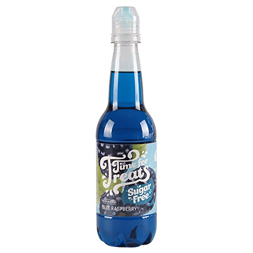 (Victorio VKP1195 Time for Treats Bottle Blue Raspberry Snow Cone Syrup, 16.9)
