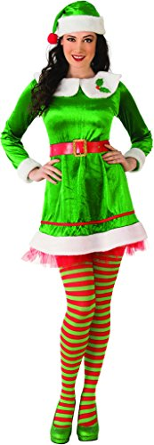 Rubie's Costume Co Women's Standard Elf Costume Dress,