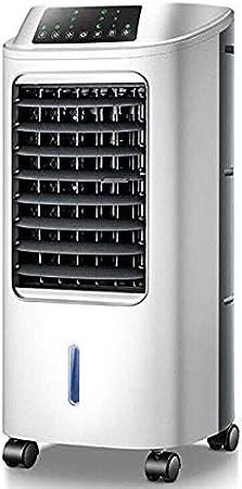 Aire Acondicionado PortáTil Con Ventilador De Enfriamiento, Tanque De Agua De 6l Con Caja De Hielo, Enfriamiento Eficiente, FiltracióN De Polvo, Flujo De Aire De 180m3 / H -60w, Control Remoto: Amazon.es: