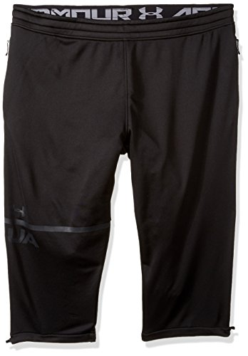 Under Armour Men's MK-1 Terry 3/4 Pants, Black (001)/Anthracite, XX-Large (Armour Side Under Pant Bottom)