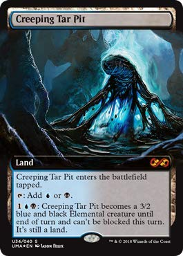 Magic: The Gathering - Creeping Tar Pit - Foil - Ultimate Masters Box Toppers - Mythic Rare