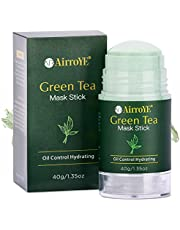 Green Tea Mask Stick - Green Tea Cleansing Mask - Green Tea Mask - Natural Ingredients,Deep Cleaning,Oil Control & Hydrating,Effective For All Skin Types