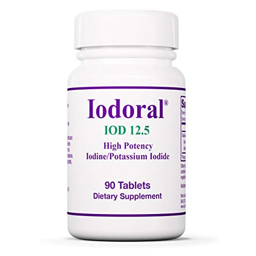 Optimox Iodoral 12.5 mg – Original High Potency Lugol Solution Iodine Nutritional Supplement – Energy and Thyroid…