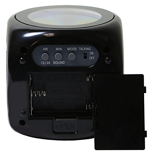 Gpct Projection Alarm Clock Digital Lcd Voice Talking