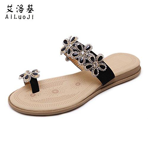 Chaussures Pantoufles Plates Antidrapantes Nouvelles t Femmes Et Tongs Sandales Pour 38 xagOBpZnnq