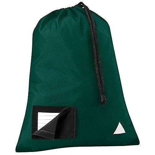 Quadra - Bolso de asas para hombre verde botella