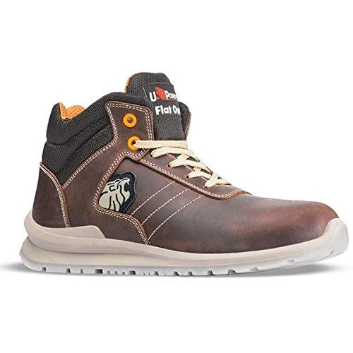 U Power Ken S3 Chaussures mi- hautes en cuir Marron S3imperméable - marron - marron, 46 EU / 11 UK EU