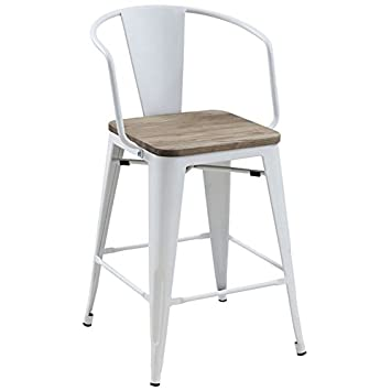 Enjoyable Amazon Com Furniture Of America Letron 25 5 Counter Stool Machost Co Dining Chair Design Ideas Machostcouk