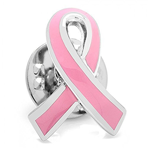 (Cufflinks Inc Pink Ribbon Breast Cancer Awareness Lapel Pin)