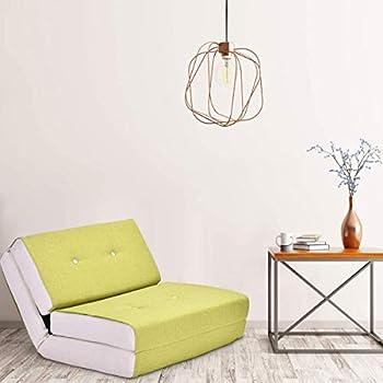 Amazon Com Giantex Fold Down Sofa Bed Floor Couch Foam