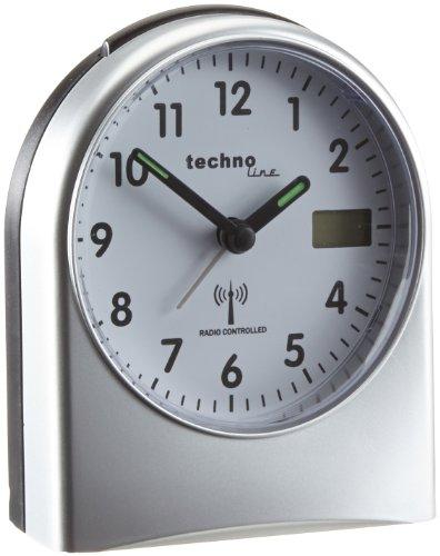 Technoline Funkwecker WT 755 mit Schlummerfunktion und Beleuchtung