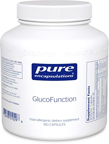 Pure Encapsulations - GlucoFunction - Comprehensive Support for Healthy Glucose Metabolism* - 180 Capsules by Pure Encapsulations