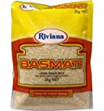 Riviana Foods Basmati Long Grain Rice 2kg