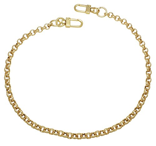 k-craft BG12 135cm Purse Metal Chain Strap Replacement Gold Crossbody Shoulder Strap Handbag by k-craft